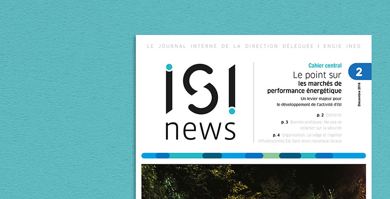 édition <br>communication ISI news
